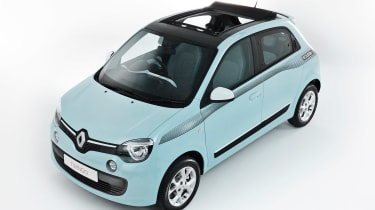 Renault Twingo The Color Run Special Edition - above