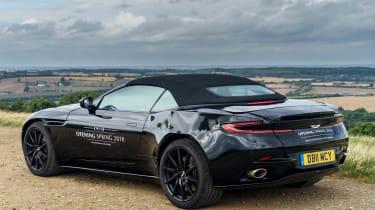 Aston Martin DB11 Volante - rear quarter