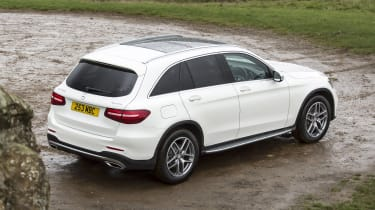 Mercedes GLC 250 - rear
