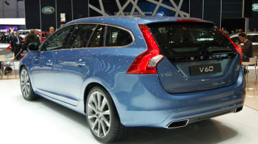 Volvo V60 rear