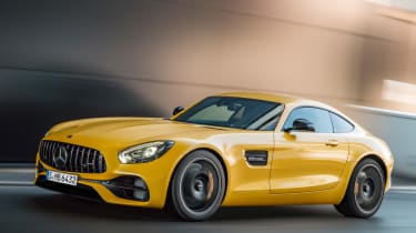 Mercedes-AMG GT S 2017 - front tracking