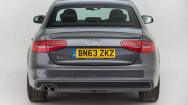 Used Audi A4 - full rear