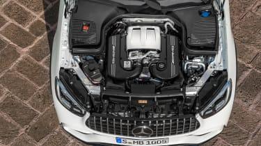 Mercedes-AMG GLC 63 - engine
