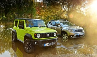 Suzuki Jimny vs Dacia Duster - header