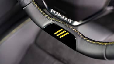 Peugeot 508 Sport Engineered - steering wheel detail