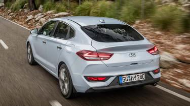 Hyundai i30 Fastback - rear