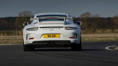 Porsche 911 GT3 rear action