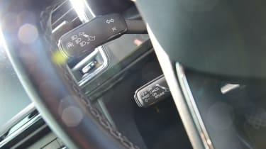 SEAT Ateca long term final report - steering wheel detail