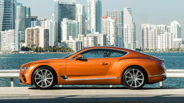 Bentley Continental GT V8 - coupe side static