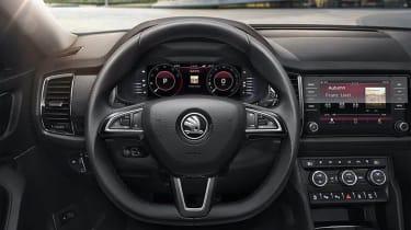 Skoda Kodiaq GT leak interior