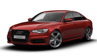 Audi A6 Black Edition front three-quarters