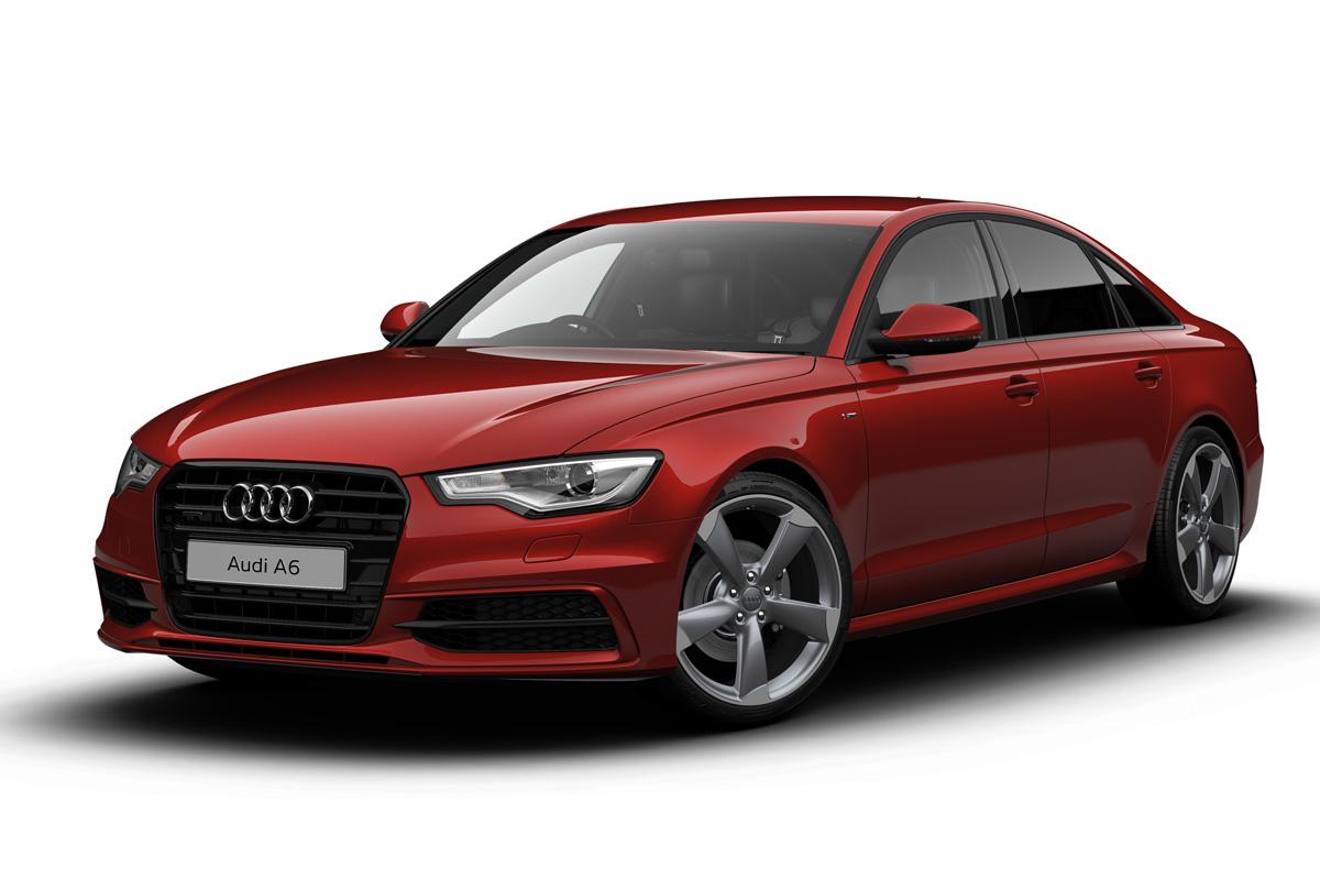Audi A6 Black Edition Auto Express