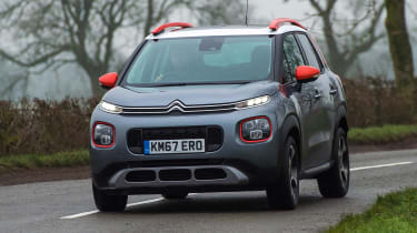 Citroen C3 Aircross - front action
