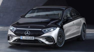 Mercedes EQS - front static