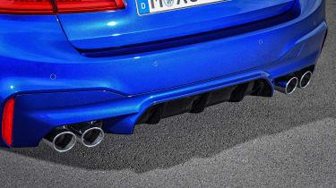 BMW M5 - rear detail