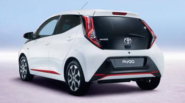 Fresh Toyota Aygo - rear
