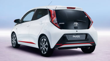 Fresh Toyota Aygo - rear