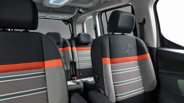 New Citroen Berlingo - front seats