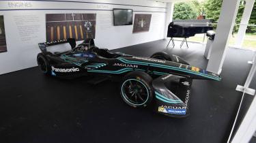 Jaguar Formula E car