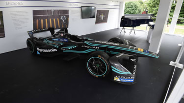 Jaguar Formula E car