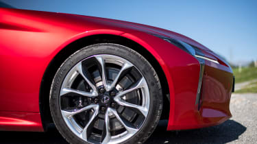 Lexus LC 500 - front profile