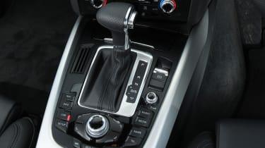 Audi Q5 interior detail