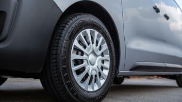 Toyota Proace Electric van - wheel detail