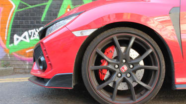 Honda Civic Type R GT - brakes