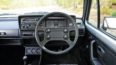VW Golf GTI Mk1 interior