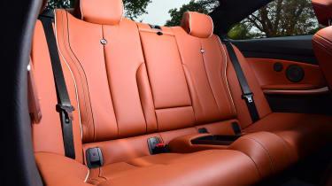 Alpina B4 S Coupe - back seats