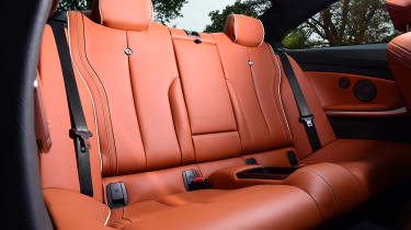Alpina B4 S Coupe - back seats