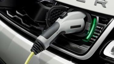 Range Rover Sport PHEV - charging detail