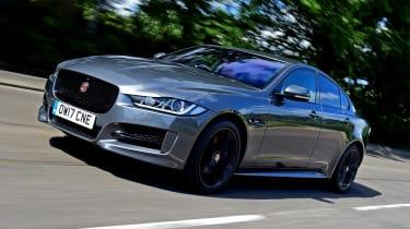 Jaguar XE - front