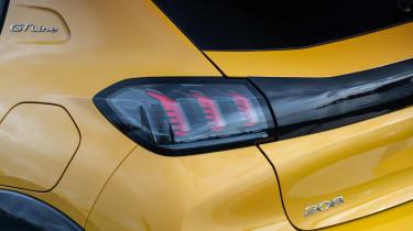Peugeot 208 - rear light