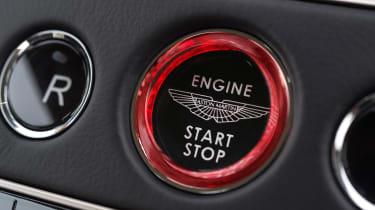 Aston Martin DB11 - engine start button