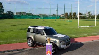 Land Rover Defender 90 - front