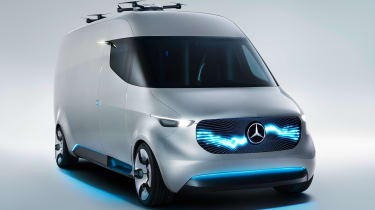 Mercedes Vision Van - official front quarter