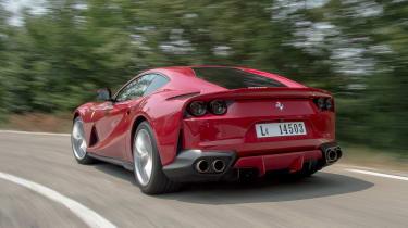 Ferrari 812 Superfast - rear action
