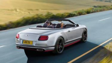 Bentley Continental GT Speed Black Edition convertible