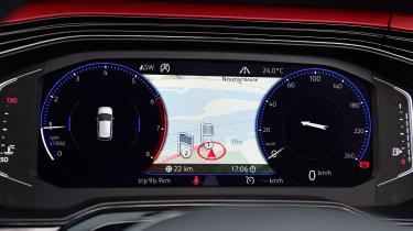 Volkswagen Polo - dials detail