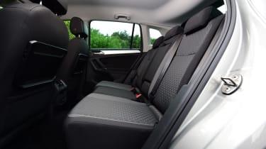 Volkswagen Tiguan 2016 - rear seats