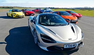 F1 road cars header