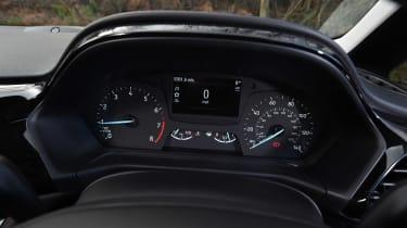 Ford Fiesta long term test - first report dials