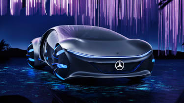 Mercedes Vision AVTR concept - front static