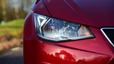 Long-term test review: SEAT Ibiza - first report front light