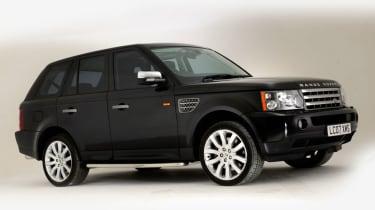 Range Rover Sport front static