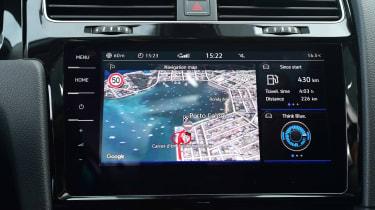 Volkswagen Golf 2017 facelift 1.5 TSI EVO - infotainment