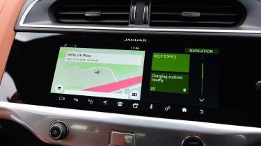 Jaguar I-Pace infotainment