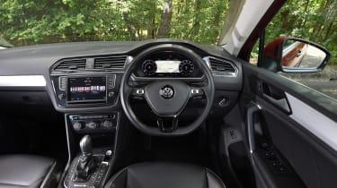 Mazda CX-5 vs Skoda Kodiaq vs VW Tiguan - Volkswagen Tiguan steering wheel