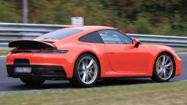 Porsche 911 rear corner